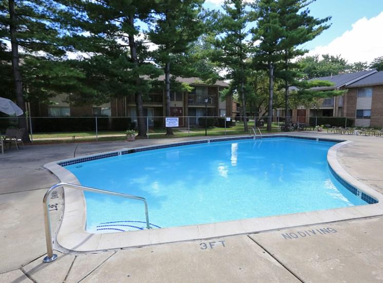 Refreshing Pool; Kings Gate in Sterling Heights, MI