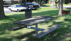 Picnic Area with Grill at Apartments in Sterling Heights
