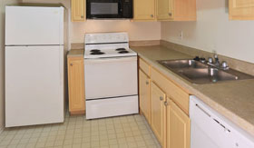 Kitchen of Apartments in Sterling Heights