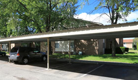 Carports at Apartments in Sterling Heights
