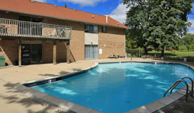 Relax by the Pool at Apartments in Sterling Heights