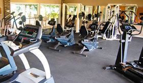 Fitness Center at Castle Pointe Apartments in East Lansing