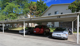 Carports at Apartments in East Lansing