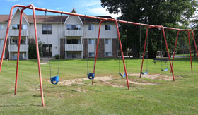 Playground at Apartments in East Lansing