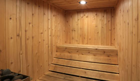 Sauna at Apartments in East Lansing