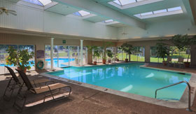 Indoor Pool at Apartments in East Lansing