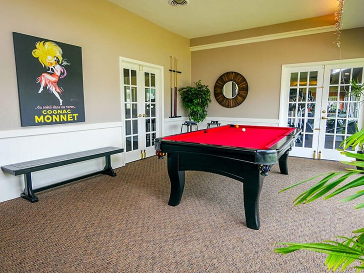 Apartments in East Lansing Pool Table