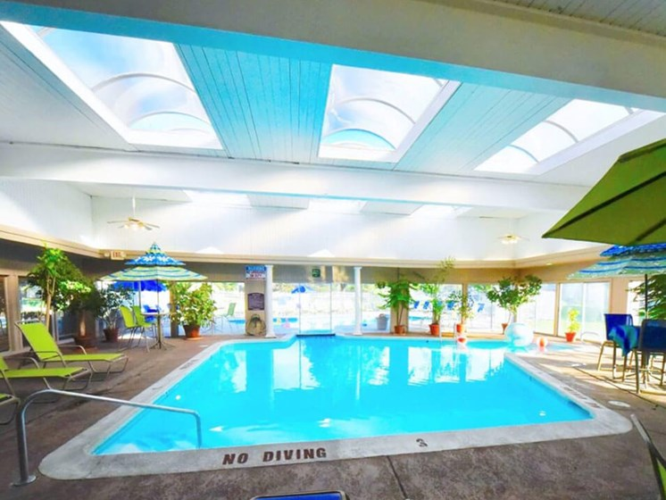 Indoor Pool at Apartments