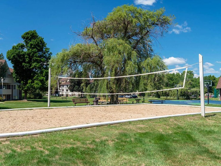 Apartments in East Lansing Sand Volleyball