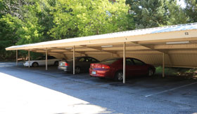 Carports at Apartments in Haslette