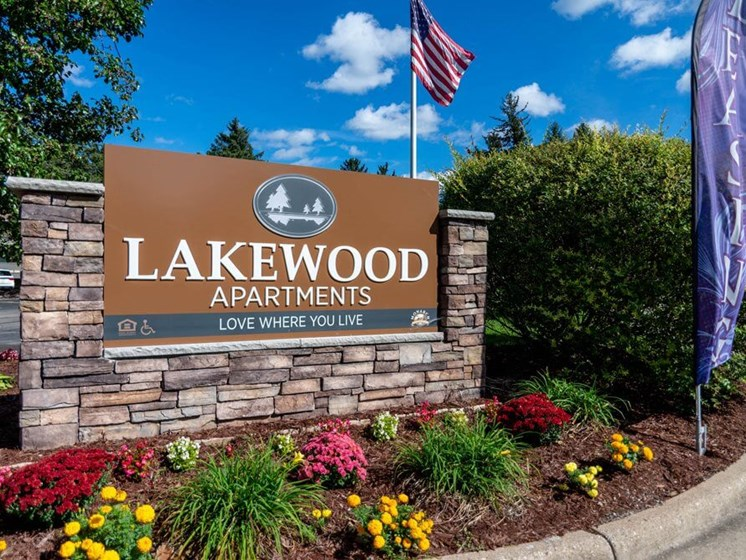 Apartments in Haslett Landscaping