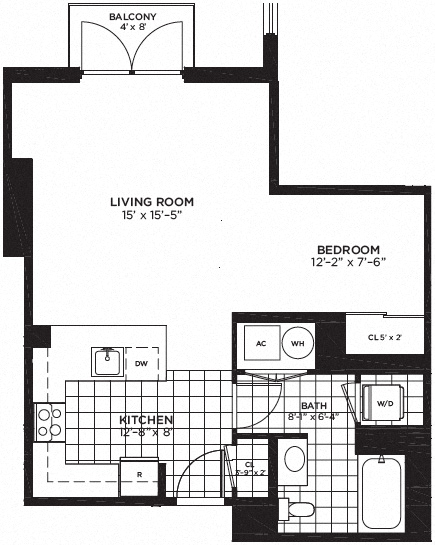Yale West Apartments Luxury DC Apartments Floor Plans