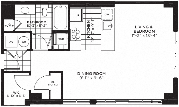 I Need Help With A Studio Apartment Floor Plan Furniture