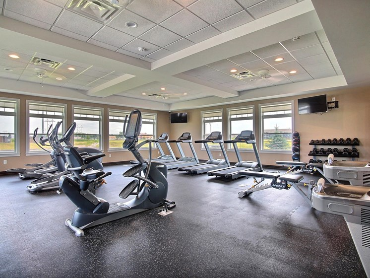 Lake Crest Apartments - Clubhouse-Fitness Center