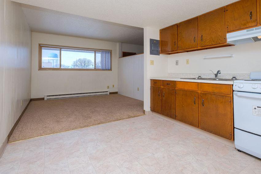 Cityside Apartments   Efficiency - Kitchen