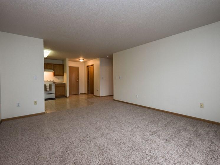 Stonebridge Apartments | 1 Bedroom Plan B | Living Room
