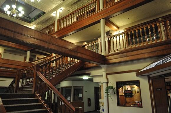 Block Six Apartments Atrium