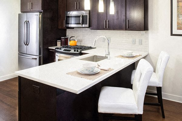Modern touches at Verde Point with Quartz Countertop