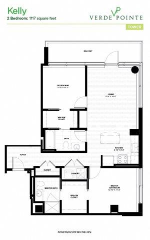 Kelly Floorplan at Verde Pointe