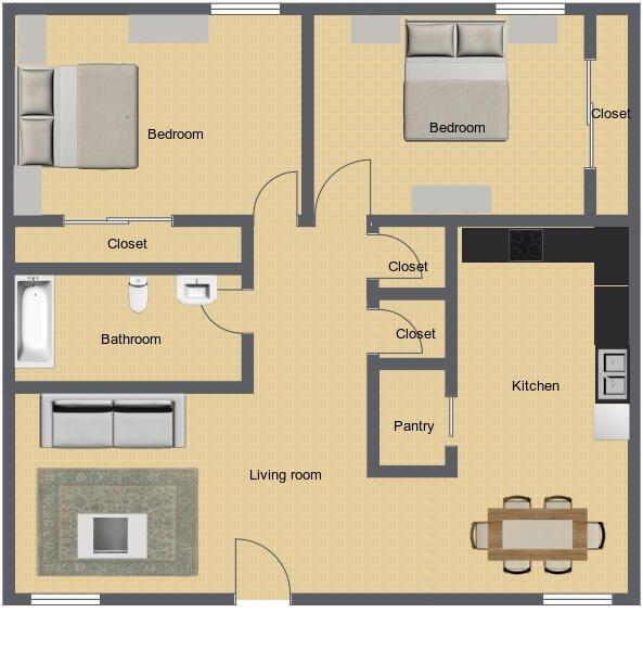 Orchid Floor Plan 1