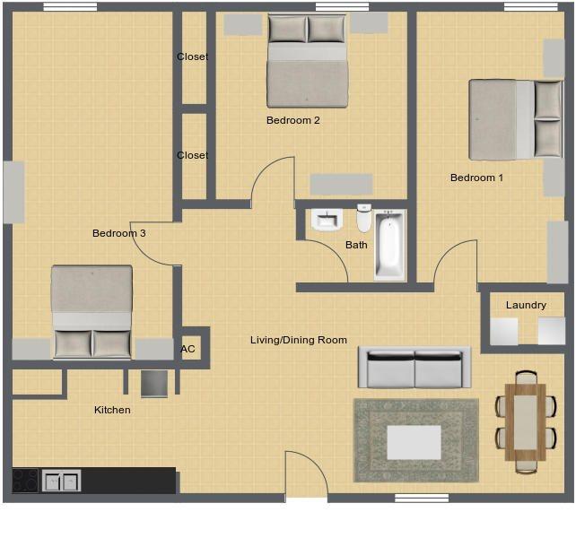 Terrace Floor Plan 4