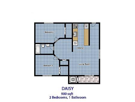 Daisy Floor Plan 2