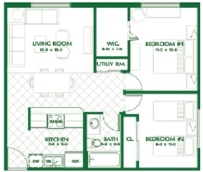 The King's Den Floor Plan 2