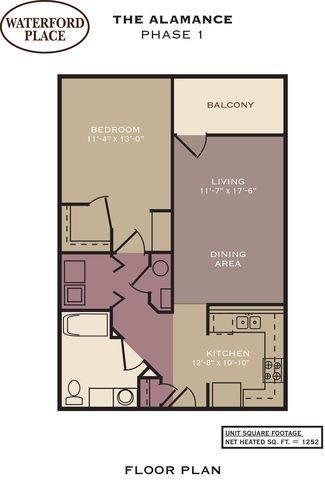 Alamance Floor Plan 1