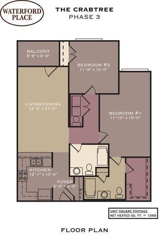 The Crabtree Floor Plan 11