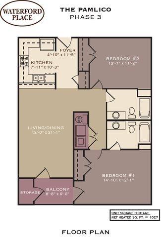 The Pamlico Floor Plan 12