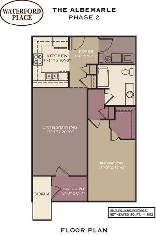 The Albemarle Floor Plan 9