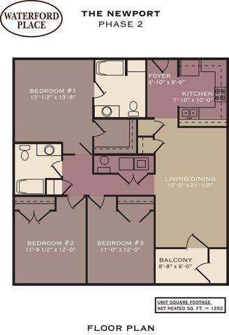 Newport Floor Plan 14