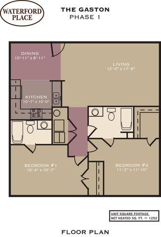 Gaston Floor Plan 3