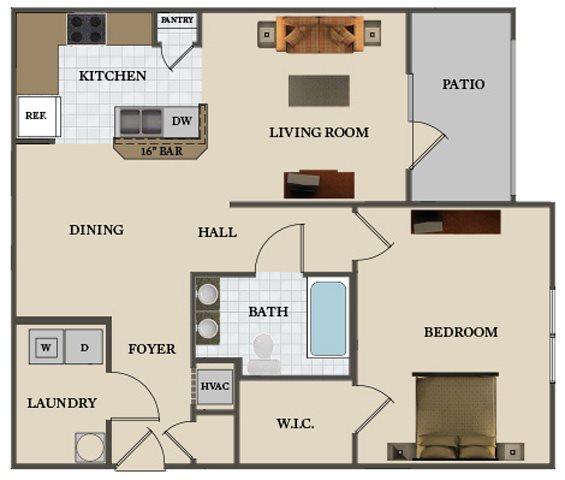 The Dogwood Floor Plan 1