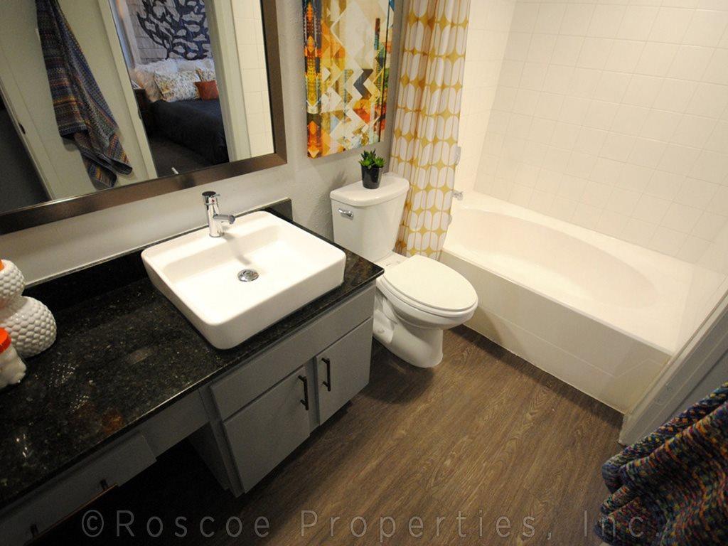 bathroom riverside austin apartments