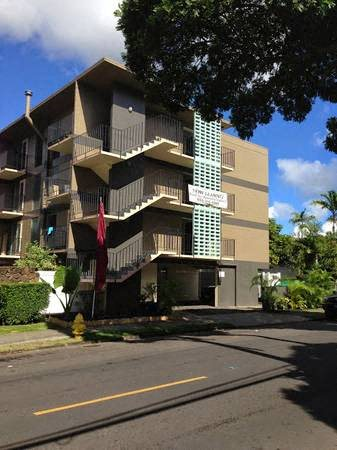 Kewalo Apartments exterior building