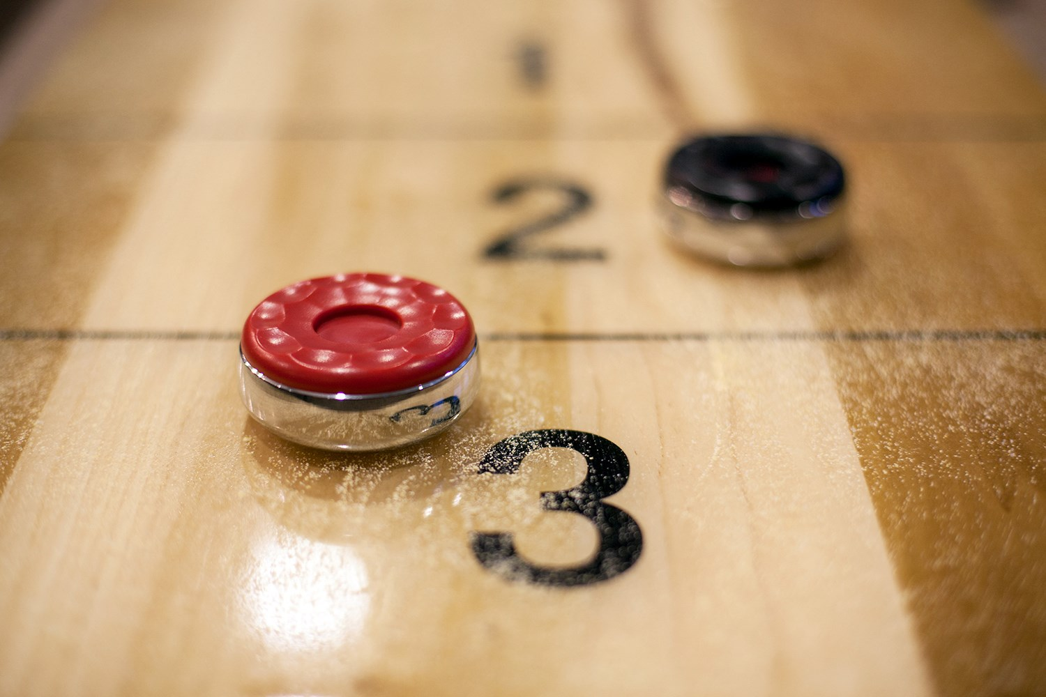 Shuffleboard at Solana at the Crossing Apartments in Indianapolis, IN