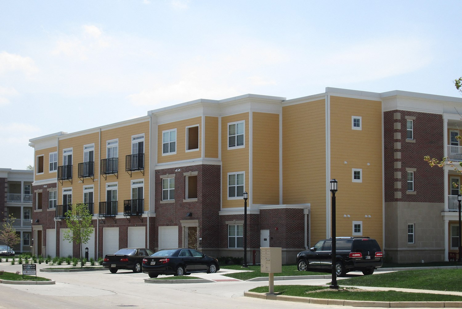 Exterior at Solana at the Crossing Apartments in Indianapolis, IN