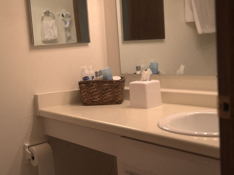 Luxury Bathrooms at Woodmere Townhomes, Cedarburg, Wisconsin