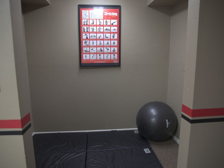 Equipment at Gym at Woodmere Townhomes, Cedarburg, 53012