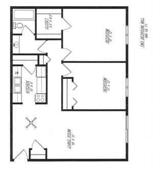Mill - Two Bedroom