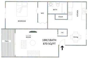 1 Bedroom 1 BathEnclave at Sabal Pointe Apartments  148 54th Avenue South  St  . 1 Bedroom Apartments St Petersburg Fl. Home Design Ideas