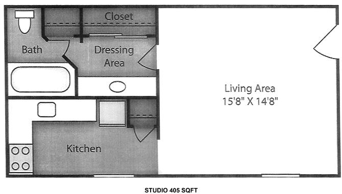 Studio Apartment Orlando lakeview pointe apartments, 4444 south rio grande ave, orlando, fl