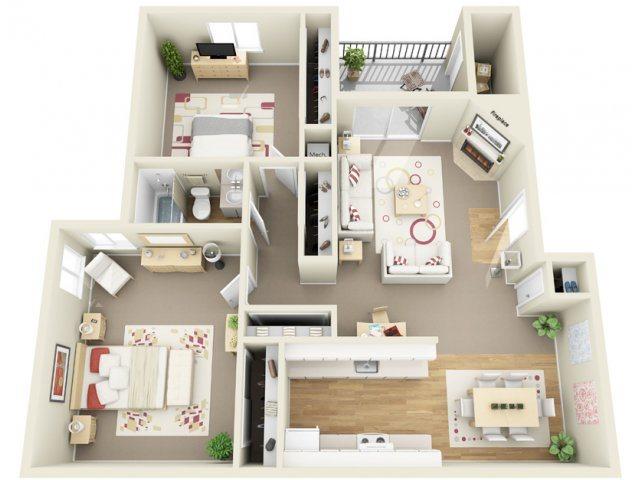 B2 Floor Plan 5