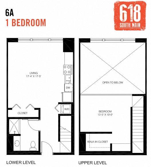 6A - 1 Bedroom