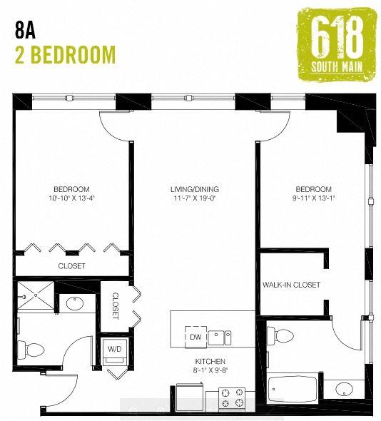 8A - 2 Bedroom