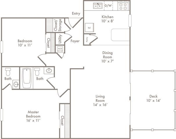 Floor Plans Of City View