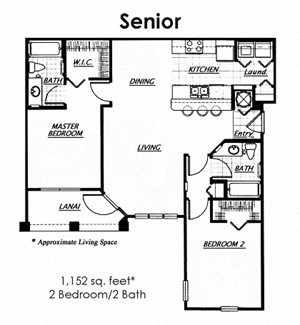Apartments for Rent in Kissimmee, FL | Floorplan