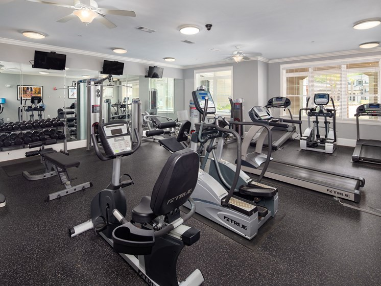Fitness Center at Abberly Crossing Apartment Homes by HHHunt, Ladson, SC
