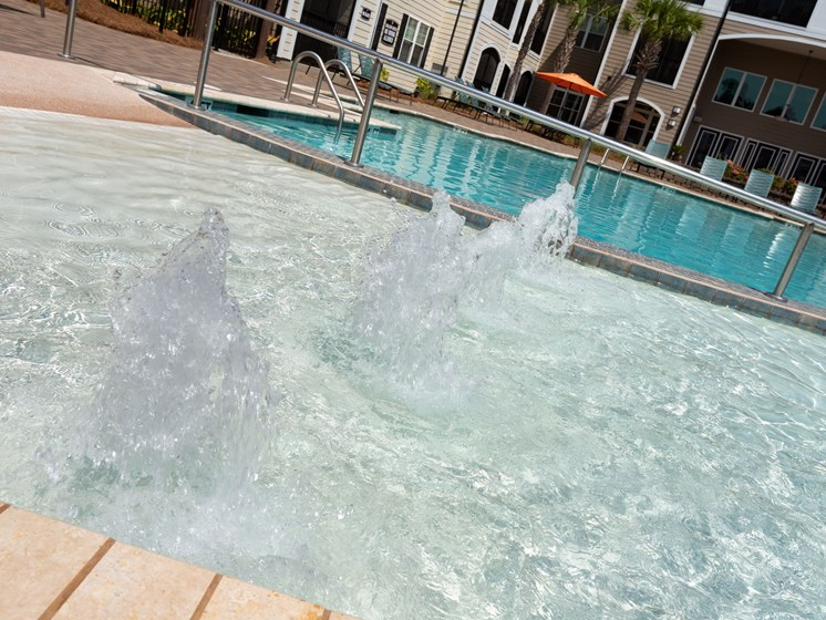 Private Swimming Pool at Abberly Crossing Apartment Homes, Ladson, South Carolina
